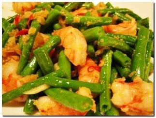 resep tumis kacang panjang dengan udang   resep masakan