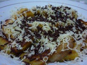 Resep Kreasi Pisang Bakar Keju