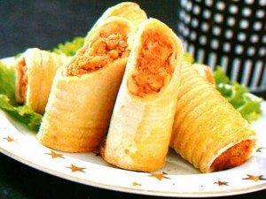 Resep Roti Gulung Dadar Daging