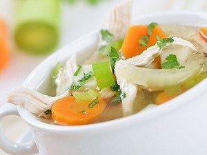 Resep Sup Ayam dengan Sayuran
