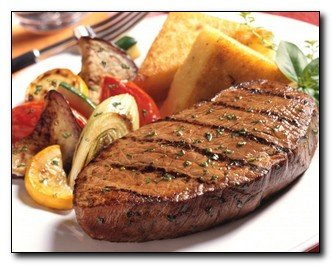 Resep Beef Steak Lada Hitam Dengan Saus Jamur