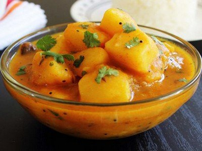 Cara Membuat dan Resep Makanan Kentang Bumbu Kari