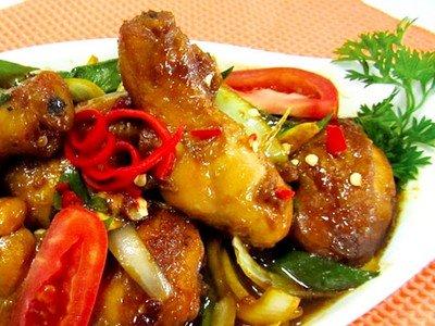 Resep Masakan Ayam Kecap Pedas Ala Resto