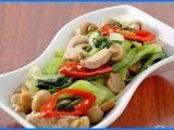 Resep-Masakan-Tumis-Pokcoy-Ayam-Jamur